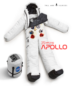 Apollo astronaut wearable sleeping bag